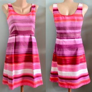 Loft A-Line Scoop Neck Dress